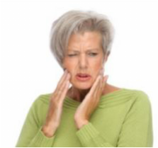 sore spots from wearing dentures and partials, remedies for pain from wearing dentures
