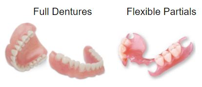 Dentures. Need affordable, low-cost flexible partial dentures? We can help! Improve you smile, laugh, speech, chewing, digestion and aesthetics. Our dentures are comfortable, durable and non-allergenic! If you naturally had yellow teeth, you can select white teeth for your full dentures and thus you will no longer need teeth whitening. Dentures cheap cost.