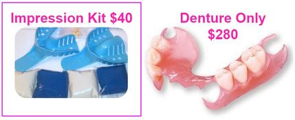 Need affordable, low-cost flexible partial dentures? We can help! Improve you smile, laugh, speech, chewing, digestion and aesthetics. Our dentures are comfortable, durable and non-allergenic! If you naturally had yellow teeth, you can select white teeth for your full dentures and thus you will no longer need teeth whitening.
