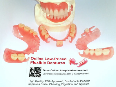 Dentures Affordable Flexible Partials Flippers Order Online